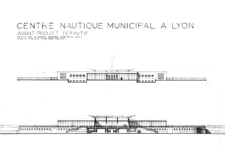 Piscine Lyon Rhone Plans D Origine Observatoire Archi20 21